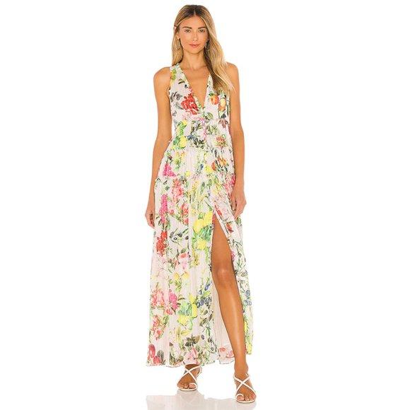 Rococo Sand Dresses & Skirts - NWT Rococo Sand Lulu Button Up Maxi Dress Cream XS